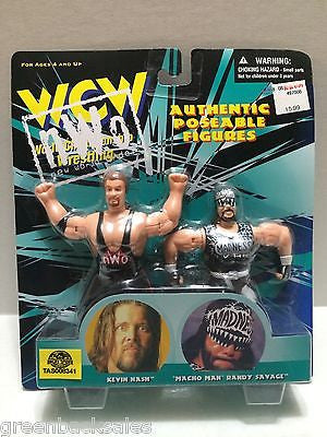 (TAS008341) - WWF WCW nWo Wrestling Authentic Poseable Figures - Nash Savage, , Action Figure, Wrestling, The Angry Spider Vintage Toys & Collectibles Store