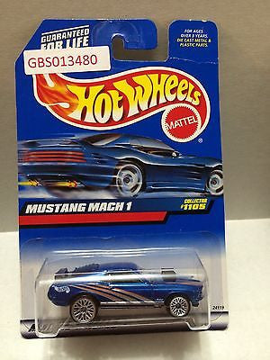 (TAS030951) - Mattel Hot Wheels Car - Mustang Mach 1, , Cars, Hot Wheels, The Angry Spider Vintage Toys & Collectibles Store
