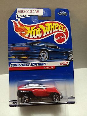 (TAS030938) - Mattel Hot Wheels Car - Jeepster, , Cars, Hot Wheels, The Angry Spider Vintage Toys & Collectibles Store