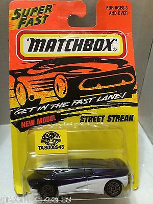 (TAS008943) - Matchbox Die-Cast New Model - Street Streak, , Cars, Matchbox, The Angry Spider Vintage Toys & Collectibles Store