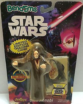 (TAS000552) - Star Wars Bend-Ems JusToys - Obi Wan Kenobi, , Action Figure, Star Wars, The Angry Spider Vintage Toys & Collectibles Store