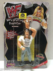(TAS008230) - WWF WWE WCW nWo Wrestling JusToys Bend-Ems Action Figure - Al Snow, , Action Figure, Wrestling, The Angry Spider Vintage Toys & Collectibles Store