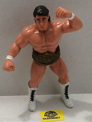 (TAS005007) - WWE WWF WCW nWo Wrestling Galoob Action Figure - Tom Zenk w/ Belt, , Sports, Varies, The Angry Spider Vintage Toys & Collectibles Store