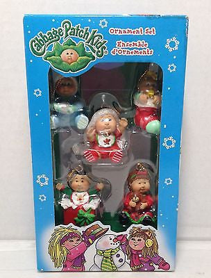 (TAS012624) - 2005 Cabbage Patch Kids Ornament Set Ensemble, , Ornament, American Greetings, The Angry Spider Vintage Toys & Collectibles Store  - 1