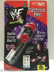 (TAS008586) - WWF WWE PowerPenz Wrestling Tattooz Pen - Undertaker, , Pen, Wrestling, The Angry Spider Vintage Toys & Collectibles Store