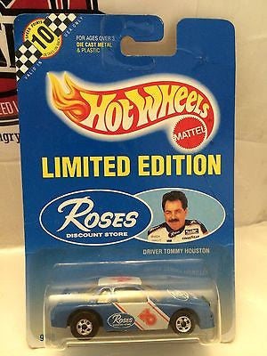 (TAS004439) - Hot Wheels Mattel Limited Editon Roses  - Driver Tommy Houston, , Cars, Hot Wheels, The Angry Spider Vintage Toys & Collectibles Store