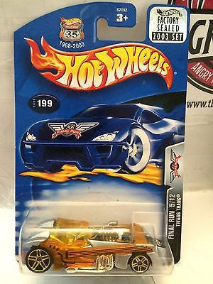 (TAS004422) - Hot Wheels Final Run 5/12 Twang Thang - Collector #199, , Cars, Hot Wheels, The Angry Spider Vintage Toys & Collectibles Store