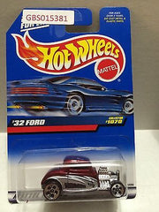 (TAS031029) - Mattel Hot Wheels Car - '32 Ford, , Cars, Hot Wheels, The Angry Spider Vintage Toys & Collectibles Store