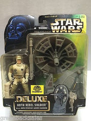 (TAS006707) - Kenner Star Wars Deluxe Action Figure - Hoth Rebel Soldier, , Action Figure, Star Wars, The Angry Spider Vintage Toys & Collectibles Store