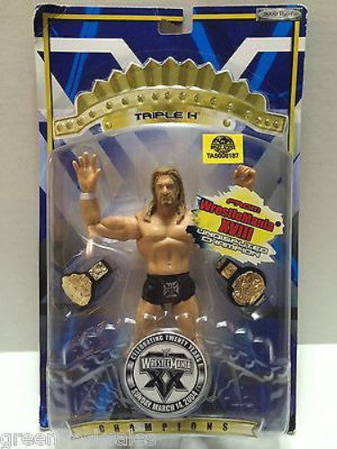 (TAS008187) - Collectible WCW nWo WWF WWE Wrestle Mania - Triple H, , Action Figure, Wrestling, The Angry Spider Vintage Toys & Collectibles Store