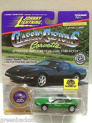 (TAS008727) - Johnny Lightning Classic Customs Car - Corvette Sting Ray III, , Trucks & Cars, Johnny Lightning, The Angry Spider Vintage Toys & Collectibles Store