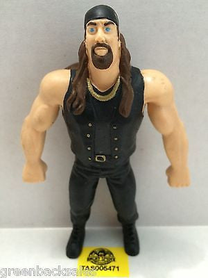 (TAS005471) - WWE WWF WCW nWo Wrestling Bend-Ems Action Figure - Crush, , Sports, Varies, The Angry Spider Vintage Toys & Collectibles Store