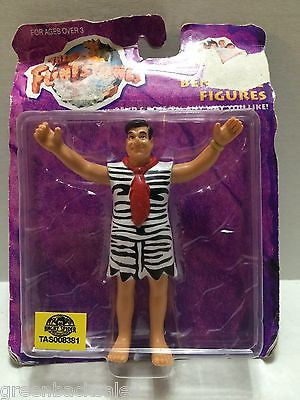 (TAS008381) - Mattel The Flintstones Bendable Figure - Fred Flintstone, , Action Figure, The Flintstones, The Angry Spider Vintage Toys & Collectibles Store