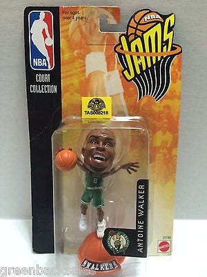 (TAS008218) - Mattel Basketball NBA Jams Figure - Antoine Walker #8 Celtics, , Action Figure, NBA, The Angry Spider Vintage Toys & Collectibles Store