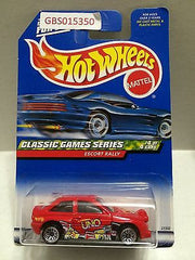 (TAS031015) - Mattel Hot Wheels Car - Escort Rally, , Cars, Hot Wheels, The Angry Spider Vintage Toys & Collectibles Store
