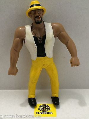 (TAS005096) - WWE WWF WCW nWo Wrestling Bend-Ems Action Figure - The Godfather, , Sports, Varies, The Angry Spider Vintage Toys & Collectibles Store