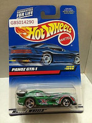 (TAS030962) - Mattel Hot Wheels Car - Panzo GTR-1, , Cars, Hot Wheels, The Angry Spider Vintage Toys & Collectibles Store