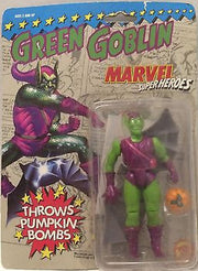 (TAS000671) - Marvel Superheroes Green Goblin - Throws Pumpkin Bombs, , Action Figure, Marvel, The Angry Spider Vintage Toys & Collectibles Store
