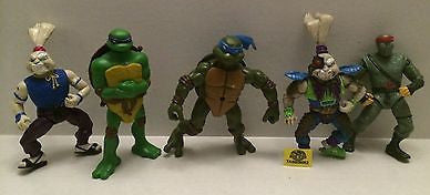 (TAS009082) - TMNT Action Figure Lot - Teenage Mutant Ninja Turtles Leo, Don, , Sports, Varies, The Angry Spider Vintage Toys & Collectibles Store
