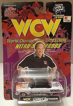 (TAS009680) - 1998 Racing Champions WCW Nitro-Street Rod Car - Larry Zbyszko, , Diecast-Modern Manufacture, Racing Champions, The Angry Spider Vintage Toys & Collectibles Store  - 1