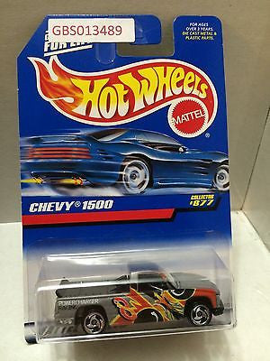 (TAS030955) - Mattel Hot Wheels Car - Chevy 1500, , Cars, Hot Wheels, The Angry Spider Vintage Toys & Collectibles Store