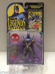 (TAS010390) - 2001 Official Legends of Batman Action Figure - Knightsend Batman, , Action Figure, Batman, The Angry Spider Vintage Toys & Collectibles Store  - 1