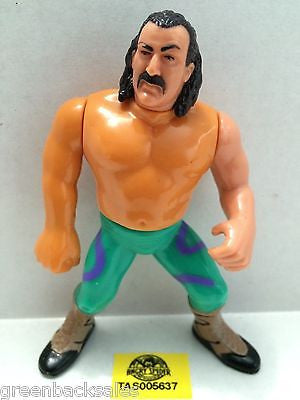 (TAS005637) - WWE WWF WCW nWo Wrestling Hasbro Action Figure - Jake the Snake, , Action Figure, Wrestling, The Angry Spider Vintage Toys & Collectibles Store