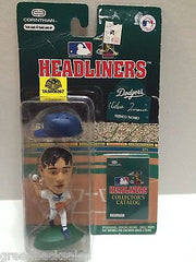 (TAS008267) - MLB NBA NFL NHL Headliners Sports Figure - Hideo Nomo, , Action Figure, MLB, The Angry Spider Vintage Toys & Collectibles Store