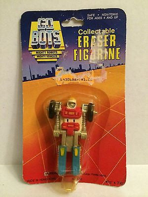 (TAS000285) - Go Bots Collectable Eraser Figurine, , Eraser, n/a, The Angry Spider Vintage Toys & Collectibles Store