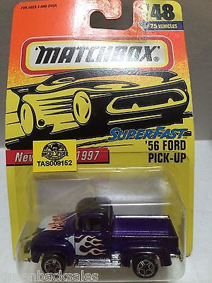(TAS009152) - Matchbox Die-Cast Cars - '56 Ford Pick-Up, , Cars, Matchbox, The Angry Spider Vintage Toys & Collectibles Store