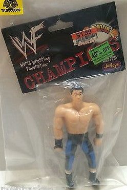 (TAS008539) - WWF WWE Wrestling JusToys Bend-Ems Figure - Tanaka, , Action Figure, Wrestling, The Angry Spider Vintage Toys & Collectibles Store
