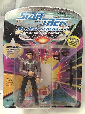 (TAS001034) - Playmates Star Trek The Next Generation - Romulan, , Action Figure, Star Trek, The Angry Spider Vintage Toys & Collectibles Store
