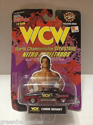 (TAS009051) - 1998 Racing Champions WCW Nitro-Street Rod Car - Chris Benoit, , Diecast-Modern Manufacture, Racing Champions, The Angry Spider Vintage Toys & Collectibles Store  - 1
