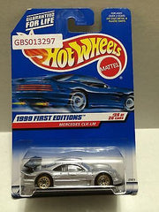 (TAS030900) - Hot Wheels 1999 First Editions Mercedes CLK-LM 26/26, , Cars, Hot Wheels, The Angry Spider Vintage Toys & Collectibles Store