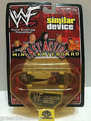 (TAS008523) - WWE WWF Similar Device Fast Action Mini Skateboard - ManKind, , Action Figure, Wrestling, The Angry Spider Vintage Toys & Collectibles Store