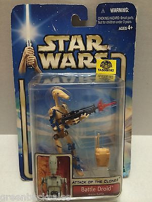 (TAS008162) - Hasbro Star Wars Attack of the Clones Action Figure - Battle Droid, , Action Figure, Star Wars, The Angry Spider Vintage Toys & Collectibles Store