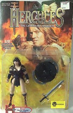 (TAS000840) - 1995 Toy Biz Hercules The Legendary Journeys Figure Xena, , Action Figure, ToyBiz, The Angry Spider Vintage Toys & Collectibles Store