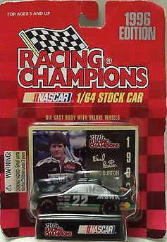 (TAS031680) - 1996 Racing Champions Nascar - Ward Burton #22 MBNA, , Trucks & Cars, Nascar, The Angry Spider Vintage Toys & Collectibles Store