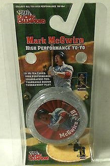 (TAS031458) - Racing Champions Mark McGwire High Performace Yo-Yo, , Yo-Yo, MLB, The Angry Spider Vintage Toys & Collectibles Store