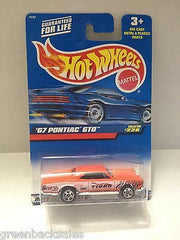 (TAS010406) - 2000 Mattel Hot Wheels Die Cast Replica - '67 Pontiac GTO, , Trucks & Cars, Hot Wheels, The Angry Spider Vintage Toys & Collectibles Store  - 1