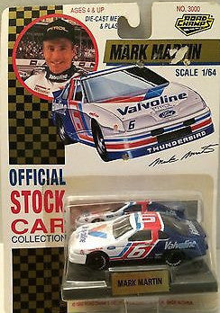 (TAS003382) - Road Champs - Mark Martin #6 Valvoline Die-Cast Stock Car, , Cars, Road Champs, The Angry Spider Vintage Toys & Collectibles Store