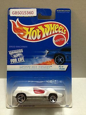(TAS031019) - Mattel Hot Wheels Car - White Ice Series, , Cars, Hot Wheels, The Angry Spider Vintage Toys & Collectibles Store