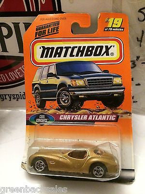 (TAS031516) - Matchbox Toy Car - Chrysler Atlantic, , Cars, Matchbox, The Angry Spider Vintage Toys & Collectibles Store
