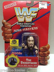 (TAS006310) - WWE WWF WCW nWo Wrestling Ring Masters Stand - The Undertaker, , Action Figure, Wrestling, The Angry Spider Vintage Toys & Collectibles Store