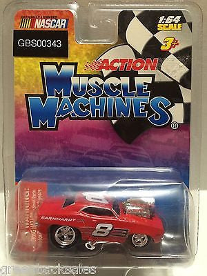 (TAS030749) - Nascar Action Muscle Machines - Dale Earnhardt Jr., , Cars, Muscle Machines, The Angry Spider Vintage Toys & Collectibles Store