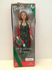 (TAS031374) - Mattel Holiday Surprise Special Edition Barbie, , Dolls, Barbie, The Angry Spider Vintage Toys & Collectibles Store