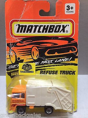 (TAS008893) - Matchbox Cars - Refuse Truck, , Cars, Matchbox, The Angry Spider Vintage Toys & Collectibles Store