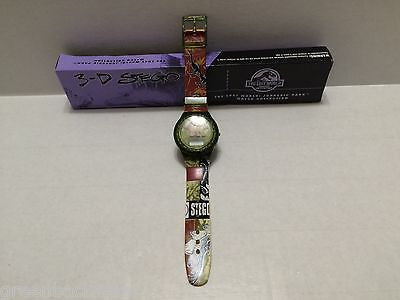 "(TAS010116) - 1997 Juassic Park 3-D Stego Dinosaur Watch ""The Lost World"", , Watches, Clocks, Timepieces, n/a, The Angry Spider Vintage Toys & Collectibles Store  - 1"