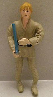 (TAS003962) - Star Wars Bend-Ems Action Figure - Luke Skywalker, , TV, Movie & Video Games, n/a, The Angry Spider Vintage Toys & Collectibles Store