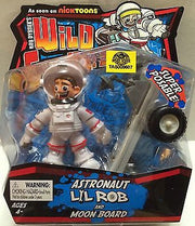 (TAS009607) - Wild Grinders Super Posable - Astronaut Lil Rob & Moon Board, , Action Figure, n/a, The Angry Spider Vintage Toys & Collectibles Store